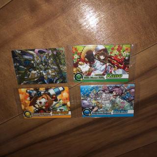 超絶 パズドラ ウエハースカード 超VⅡ-01.05.06 .12 4枚セット(カード)
