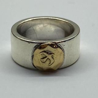 ゴローズ(goro's)のゴローズ 美品 平打リング7号 イーグル斜め飛び(リング(指輪))