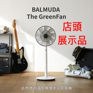BALMUDA - バルミューダ GreenFanリビング扇風機 EGF-1700-WK 展示品