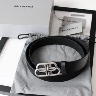 バレンシアガ(Balenciaga)のぴらま様専用新品 BALENCIAGA BBレザーベルト(ベルト)