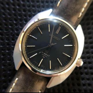 グランドセイコー(Grand Seiko)のグラントセーコー手巻き OH済 磨き済 4520-7000(腕時計(アナログ))