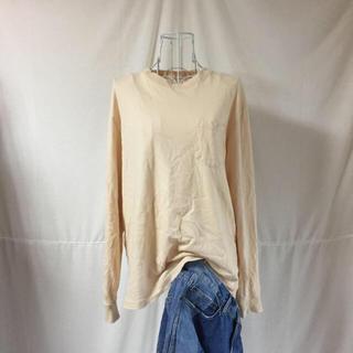 ビームス(BEAMS)のFRUITOFTHELOOM フルーツオブザルーム ロンT beige(Tシャツ(長袖/七分))