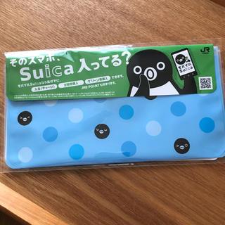 ジェイアール(JR)の【新品未開封】Suicaペンギン マスクケース 非売品(ノベルティグッズ)