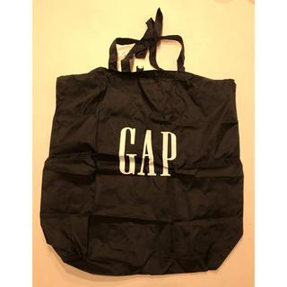 ギャップ(GAP)のギャップ  エコバッグ ブラック(エコバッグ)