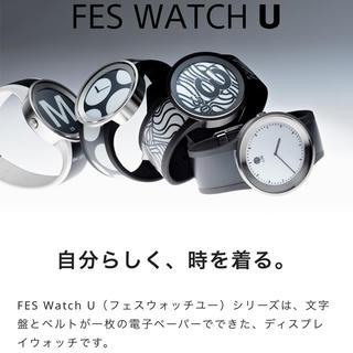 ソニー(SONY)の定価66000円❣️ SONY FES Watch U ❣️プレミアムブラック(腕時計(デジタル))