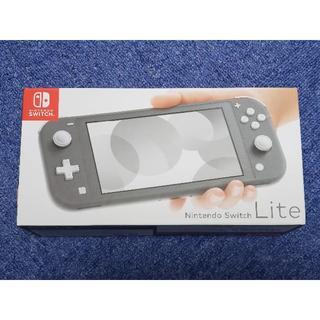 ayako777様専用 Nintendo Switch lite グレー  中古(家庭用ゲーム機本体)