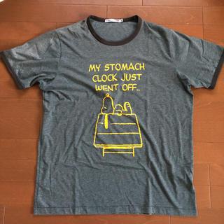 スヌーピー(SNOOPY)のSNOOPY PEANUTS✖️UT  ユニクロコラボリンガー T(Tシャツ/カットソー(半袖/袖なし))