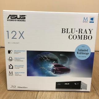 エイスース(ASUS)のASUS BC-12D2HT ブルーレイコンボ(PC周辺機器)