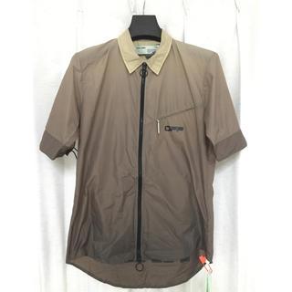 オフホワイト(OFF-WHITE)の新品未使用 OFF-WHITE オフホワイト 半袖シャツ ランニングジャケット(シャツ)