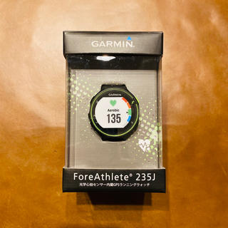 ガーミン(GARMIN)の【ほぼ新品】GARMIN(ガーミン) GPS ForeAthlete 235J(ランニング/ジョギング)