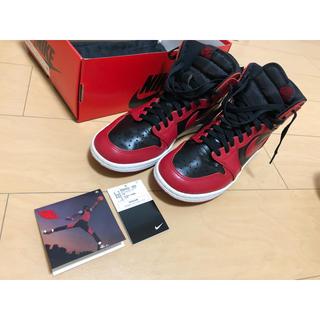"""ナイキ(NIKE)の NIKE AIR JORDAN 1 High 85 """"Varsity Red""""(スニーカー)"""