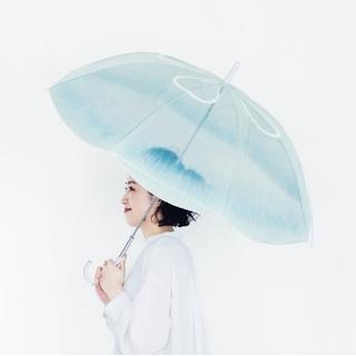 フェリシモ(FELISSIMO)の新品・未使用/くらげ 傘 エフィラ付 加茂水族館(傘)