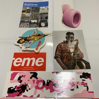 シュプリーム(Supreme)のsupreme sticker set シュプリーム ステッカー セット 5枚(その他)