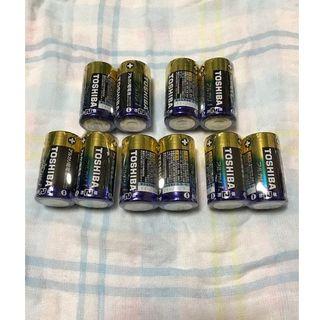 トウシバ(東芝)の東芝 単2アルカリ乾電池 10本(その他)