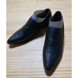 ジーナシス(JEANASIS)のJEANASIS マニッシュシューズ ブラック (ローファー/革靴)
