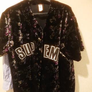シュプリーム(Supreme)のsupreme floral baseball(シャツ)