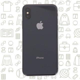 アイフォーン(iPhone)の【B】iPhoneX/256/au(スマートフォン本体)