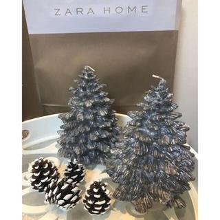 ZARA HOME - 新品 2⃣点 ZARA HOME クリスマスツリー キャンドル ザラホーム