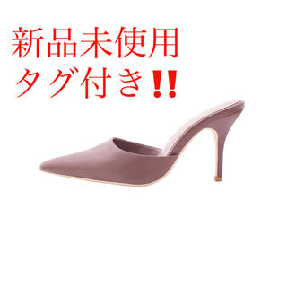 ジェイダ(GYDA)のgyda ジェイダ ポインテッドミュール サンダル ミュール 靴 シューズ (ミュール)
