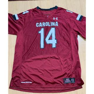 アンダーアーマー(UNDER ARMOUR)のサウスカロライナ大学 アメフト部 ゲームシャツ 日本XXLサイズ(アメリカンフットボール)