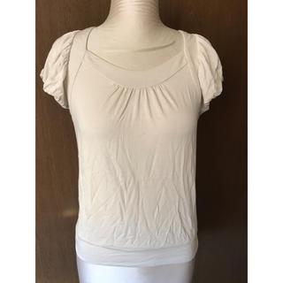スコットクラブ(SCOT CLUB)のプチプードル スコットクラブ Tシャツ カットソー パフスリーブ 半袖(Tシャツ(半袖/袖なし))