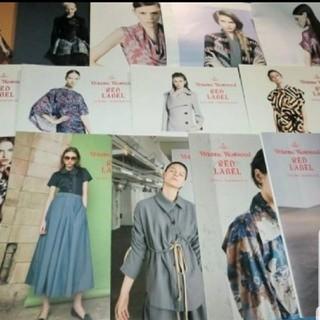 ヴィヴィアンウエストウッド(Vivienne Westwood)の希少📗ルックブック16冊📘ライセンスヴィヴィアンウエストウッドレッドレーベル(ファッション/美容)