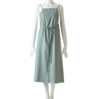 baserange yumi apron dress  エプロンドレス(ロングワンピース/マキシワンピース)