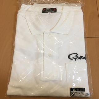 ガマカツ(がまかつ)のポロシャツ 白色 L(ポロシャツ)