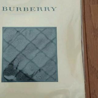 バーバリー(BURBERRY)のBURBERRY ブラック チェック タイツ ストッキング(タイツ/ストッキング)