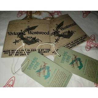 ヴィヴィアンウエストウッド(Vivienne Westwood)のworlds end Africa BAG タグ🏷️ヴィヴィアンウエストウッド(その他)
