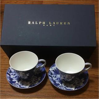 ラルフローレン(Ralph Lauren)のラルフローレン  カップ&ソーサー ペア(グラス/カップ)