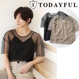 トゥデイフル(TODAYFUL)のTODAYFUL レイヤードチュールT(Tシャツ(長袖/七分))