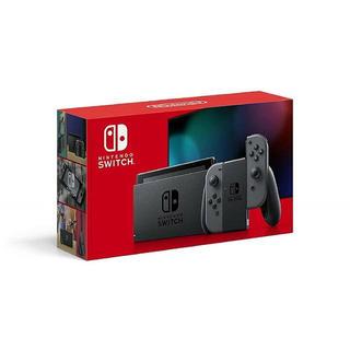 ニンテンドースイッチ(Nintendo Switch)の新モデル Nintendo Switch 本体 ニンテンドースイッチ グレー (家庭用ゲーム機本体)