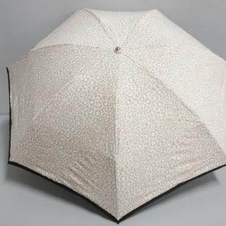 ジバンシィ(GIVENCHY)のジバンシー 折りたたみ傘美品  - 豹柄(傘)