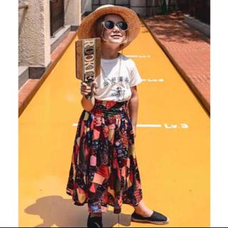 ゴートゥーハリウッド(GO TO HOLLYWOOD)のゴートゥーハリウッド アンティークキルトスカート120gotohollywood(スカート)