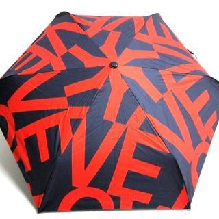 グレースコンチネンタル(GRACE CONTINENTAL)のダイアグラム 日傘 ネイビー×レッド(傘)