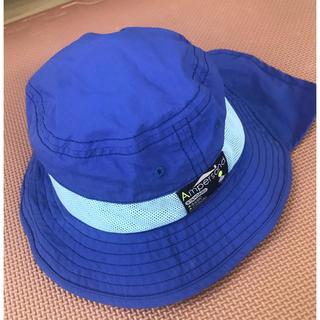 アンパサンド(ampersand)のampersand 夏用UVカット ベビー 帽子 48cm(帽子)