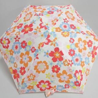 キャスキッドソン(Cath Kidston)のキャスキッドソン 折りたたみ傘 - 花柄(傘)