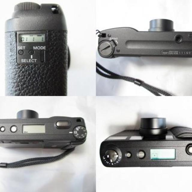 RICOH(リコー)の美品 RICOH GR1V カメラ コンパクトカメラ ブラック シャッターOK スマホ/家電/カメラのカメラ(フィルムカメラ)の商品写真