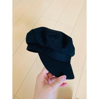 レプシィム(LEPSIM)のキャスケット ブラック(ハンチング/ベレー帽)