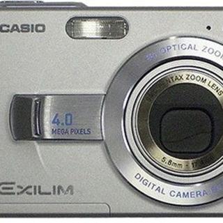 カシオ(CASIO)のCASIO EXILIM ZOOM EX-Z40 シルバー(コンパクトデジタルカメラ)