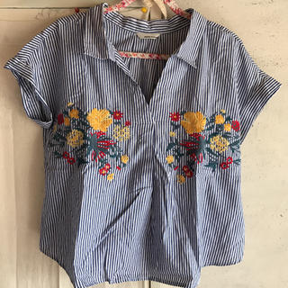ミスティウーマン(mysty woman)のミスティーウーマン シャツ(Tシャツ(半袖/袖なし))