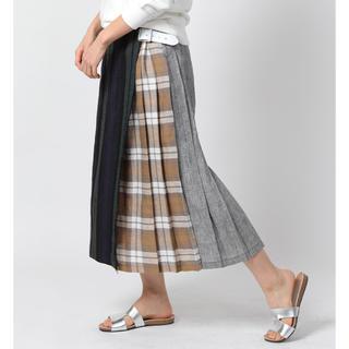 フリークスストア(FREAK'S STORE)のオニールオブダブリン パッチワークキルトスカート 美品(ロングスカート)