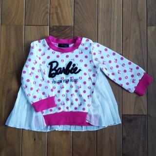 バービー(Barbie)のバービー Barbie トレーナー95(Tシャツ/カットソー)