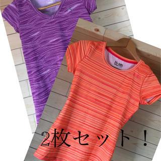 アンダーアーマー(UNDER ARMOUR)のトレーニングTシャツ2枚セット プーマ&アンダーアーマー レディース(ウォーキング)