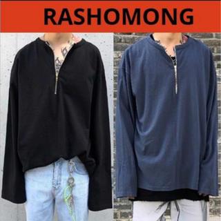 アクネ(ACNE)のrashomong ファスナー BOX Tシャツ(Tシャツ/カットソー(七分/長袖))