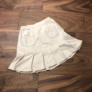ポンポネット(pom ponette)のpom ponetteポンポネット☆スカート☆120cm☆ベージュ(スカート)