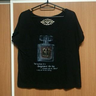 ミスティウーマン(mysty woman)の【mysty woman】黒のTシャツ(Tシャツ(半袖/袖なし))