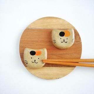 三毛猫 箸置きセット(キッチン小物)