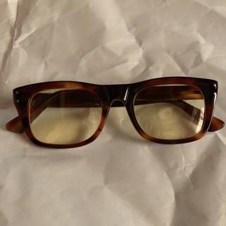 アヤメ(Ayame)の希少 60s vintage  眼鏡 lesca フレンチ ヴィンテージフレーム(サングラス/メガネ)